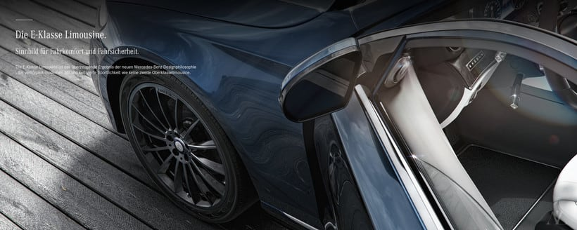 Mercedes Benz E Class Avantgarde // Full CGI 1