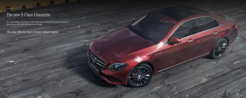 Mercedes Benz E Class Avantgarde // Full CGI 5
