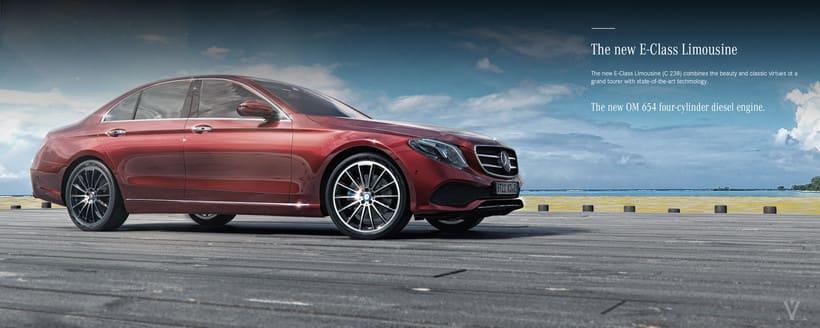 Mercedes Benz E Class Avantgarde // Full CGI 6