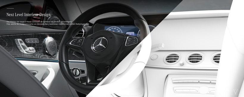 Mercedes Benz E Class Avantgarde // Full CGI 8