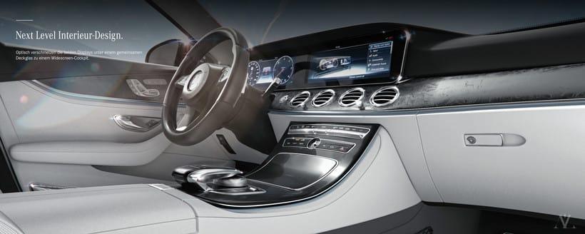 Mercedes Benz E Class Avantgarde // Full CGI 9