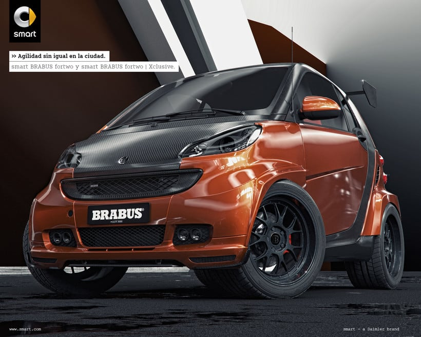 Smart fortwo Series // Full CGI 0