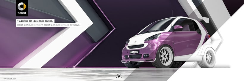 Smart fortwo Series // Full CGI 10