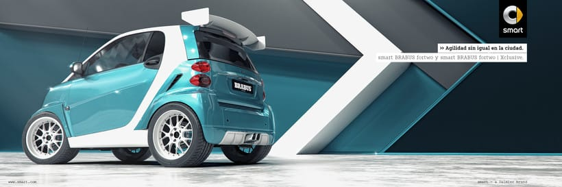Smart fortwo Series // Full CGI 4