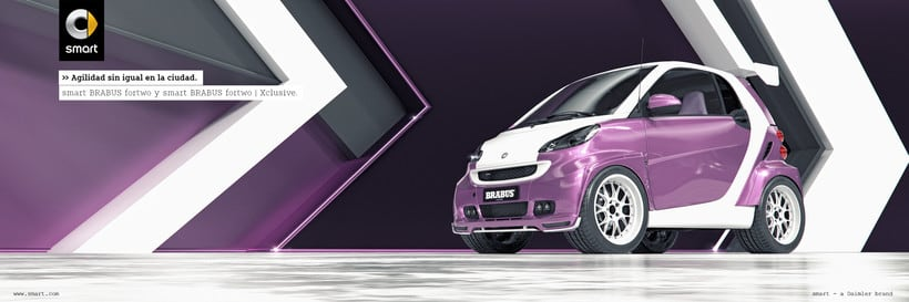 Smart fortwo Series // Full CGI 9