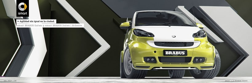 Smart fortwo Series // Full CGI 6