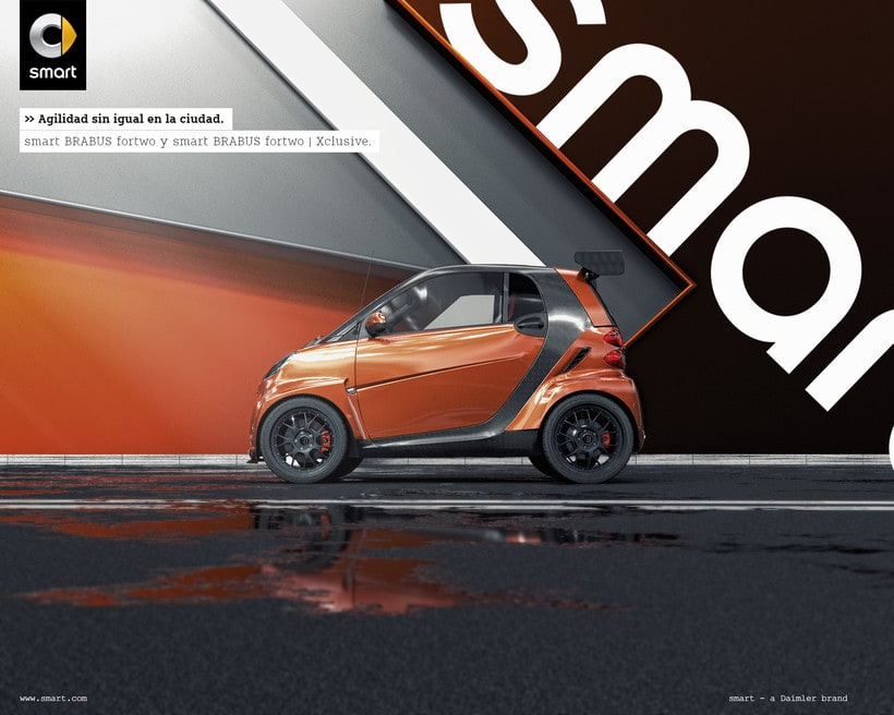 Smart fortwo Series // Full CGI 1