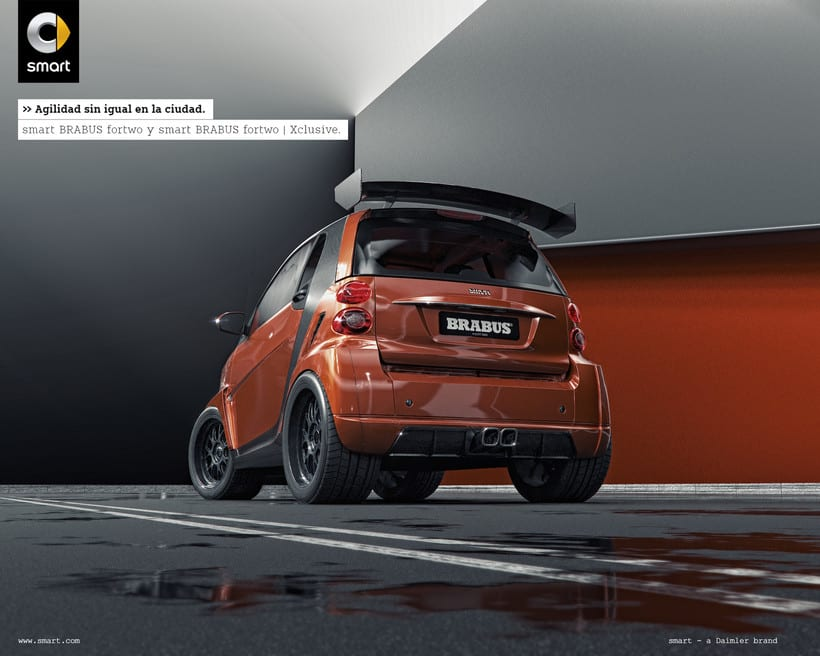 Smart fortwo Series // Full CGI 3