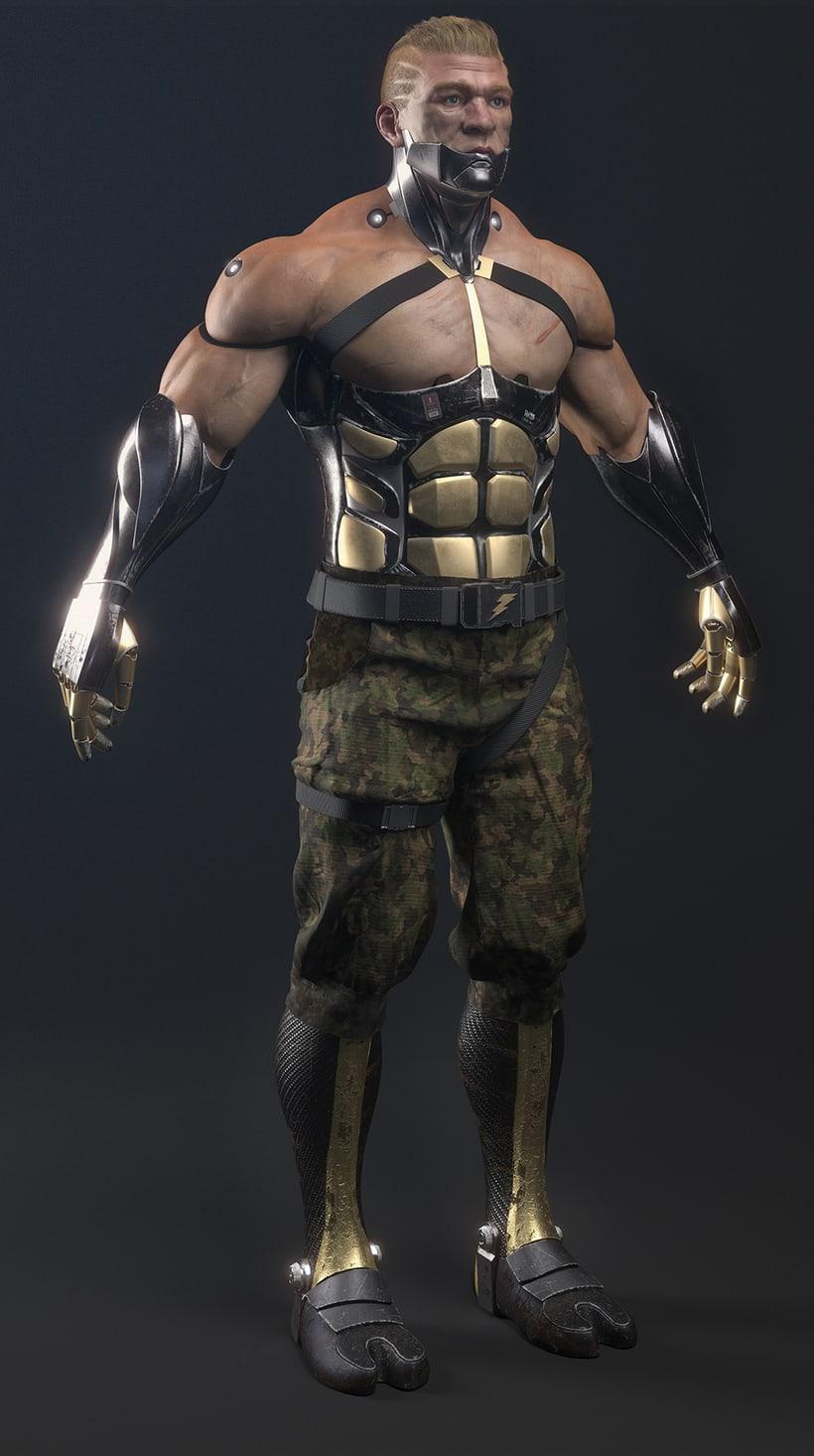 Capitan Cyborg 1