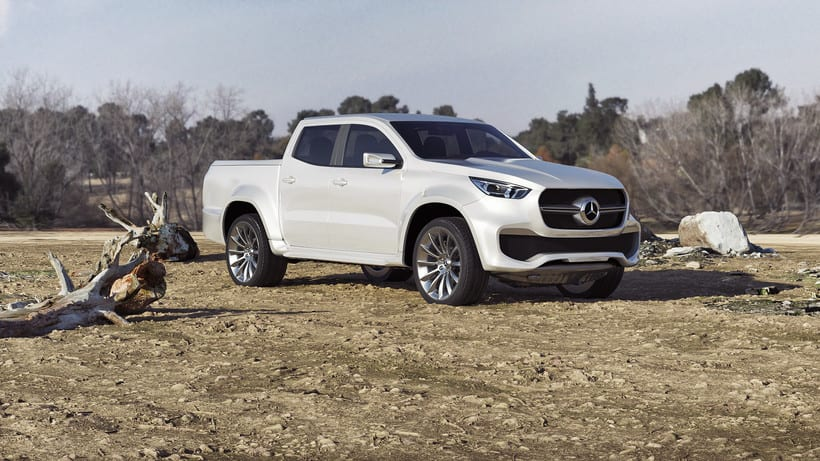Mercedes Pick Up Concept // Full CGI 2