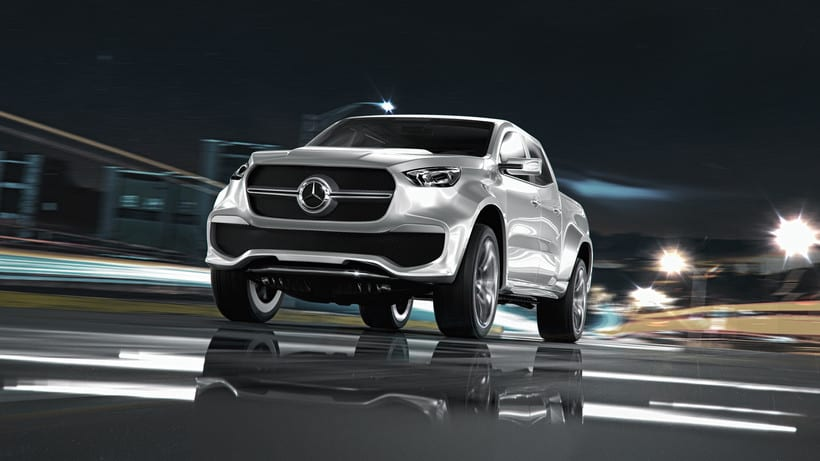 Mercedes Pick Up Concept // Full CGI 8