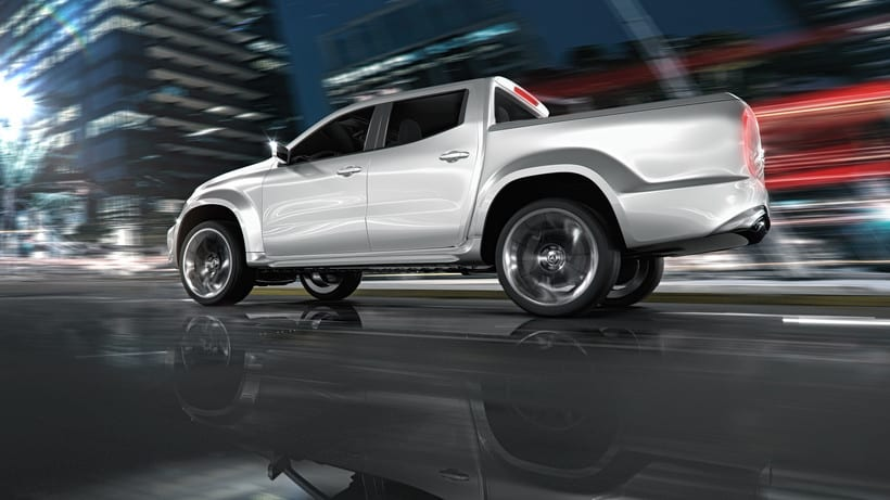 Mercedes Pick Up Concept // Full CGI 10