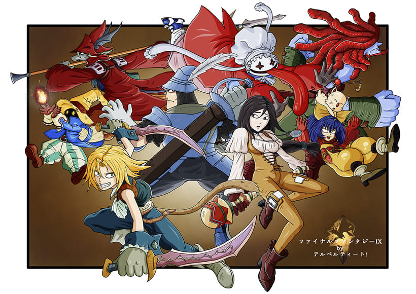 "Fan Art ""Final Fantasy IX"" -1"