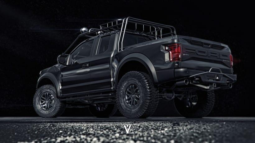 Ford Raptor // CGI Challenge 1