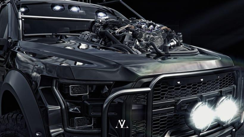 Ford Raptor // CGI Challenge 3