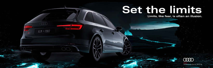 Audi S4 Avant // Full CGI 4