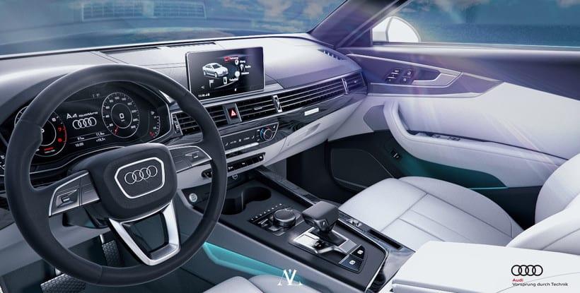 Audi S4 Avant // Full CGI 9