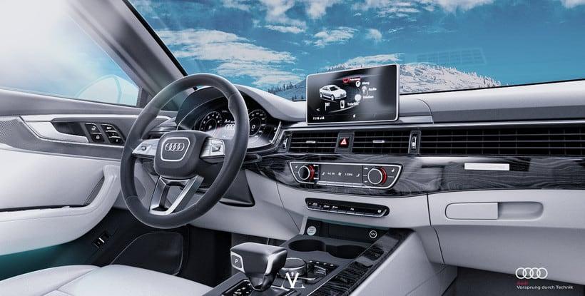 Audi S4 Avant // Full CGI 10