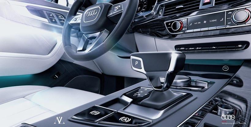 Audi S4 Avant // Full CGI 11