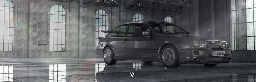 Ford Sierra Cosworth // Full CGI 1