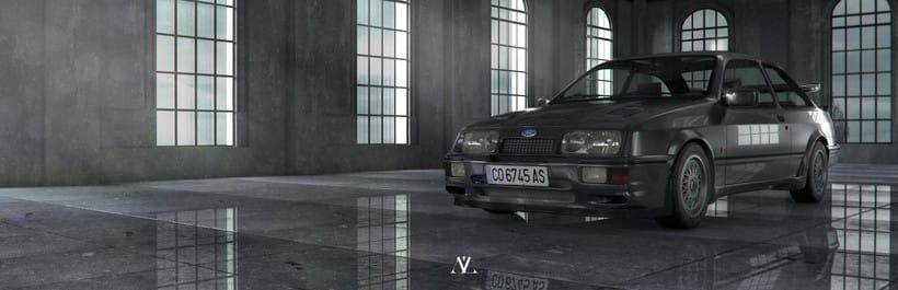 Ford Sierra Cosworth // Full CGI 2