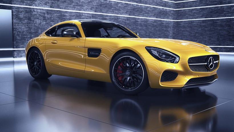Mercedes AMG GT // Full CGI 14