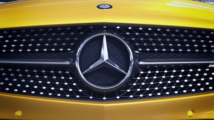 Mercedes AMG GT // Full CGI 9