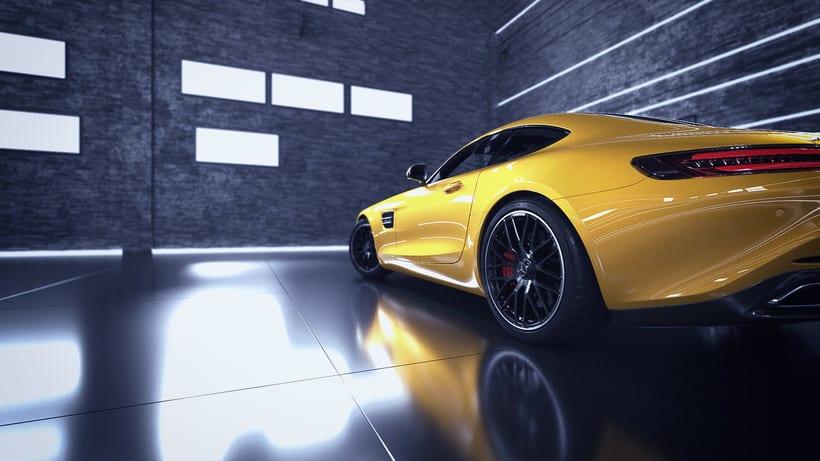 Mercedes AMG GT // Full CGI 15