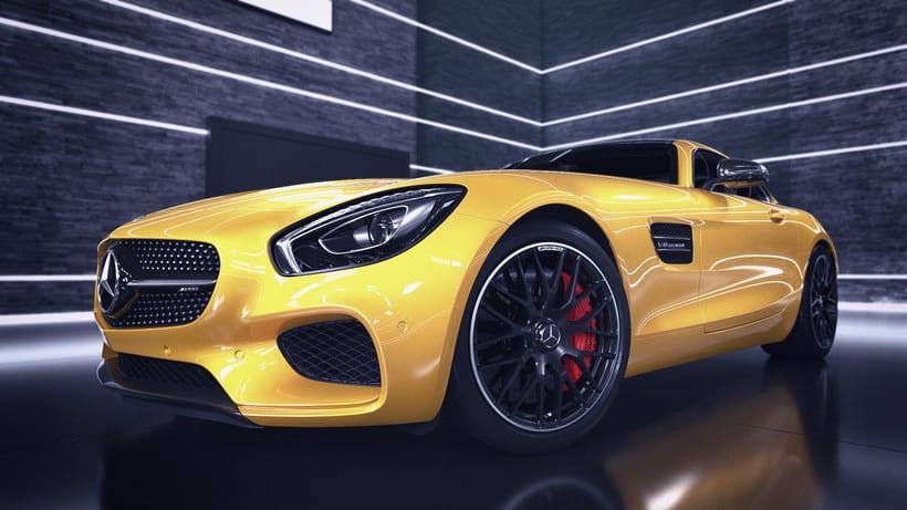 Mercedes AMG GT // Full CGI 16