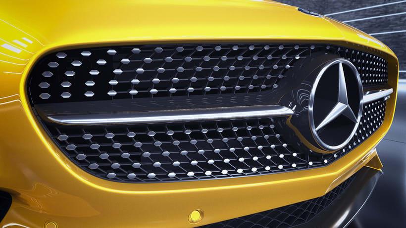 Mercedes AMG GT // Full CGI 10