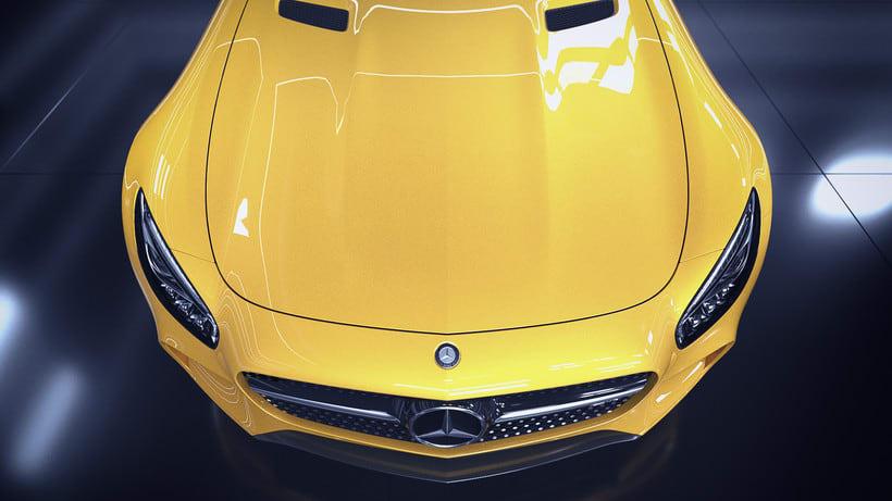 Mercedes AMG GT // Full CGI 17