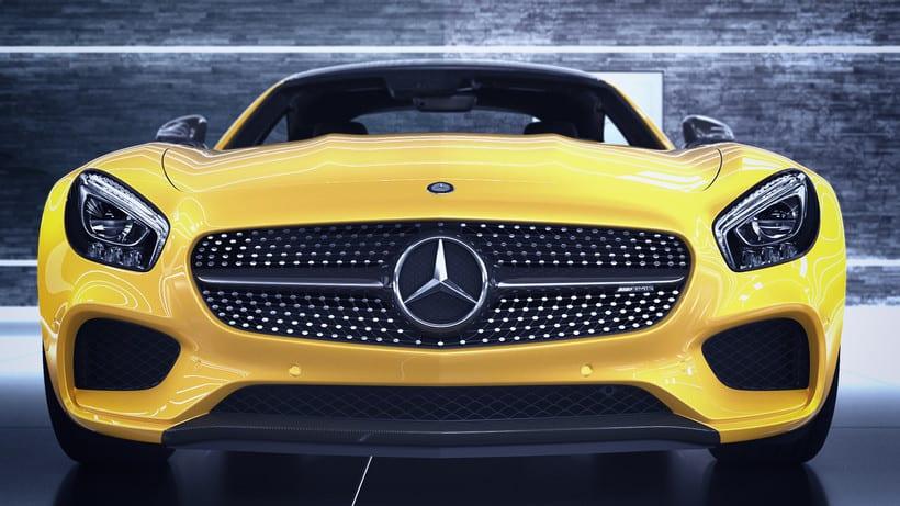 Mercedes AMG GT // Full CGI 12