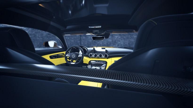 Mercedes AMG GT // Full CGI 8