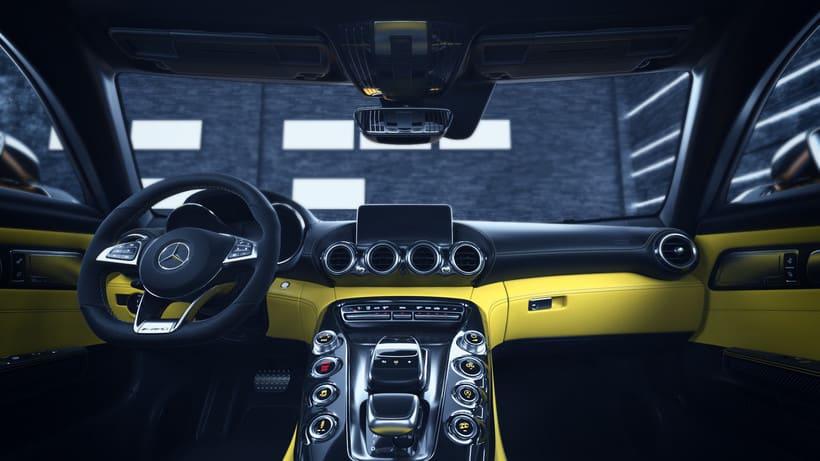 Mercedes AMG GT // Full CGI 5