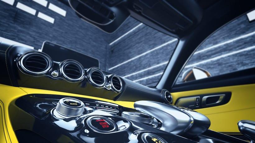 Mercedes AMG GT // Full CGI 6