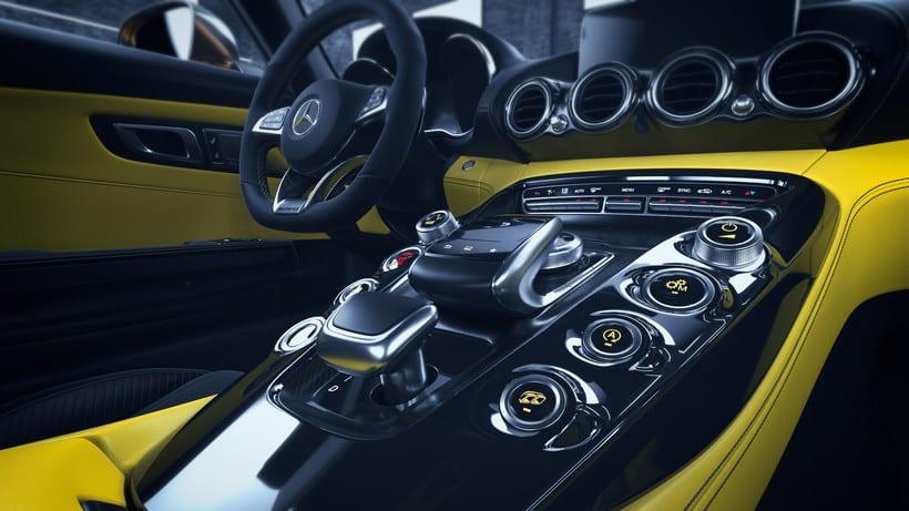 Mercedes AMG GT // Full CGI 7