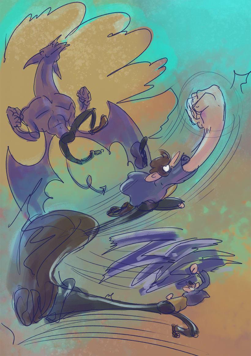 Bocetos y diseño de personajes 2