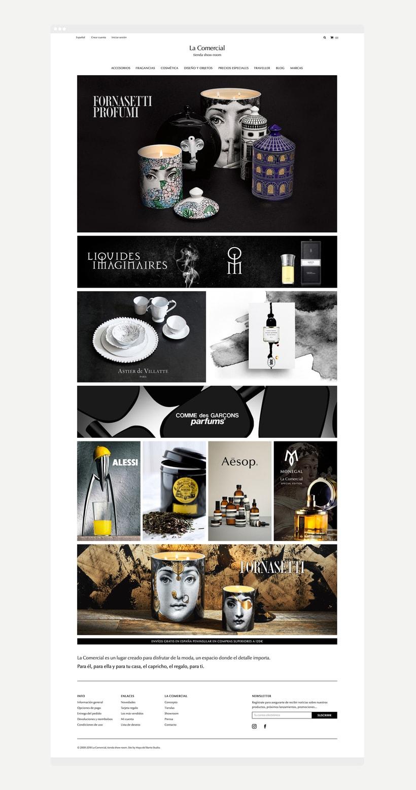 La Comercial - Ecommerce Design 1