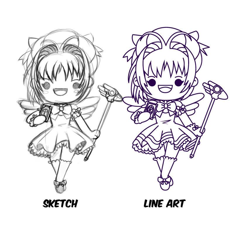 Mi Proyecto del curso: Diseño de personajes estilo kawaii 2