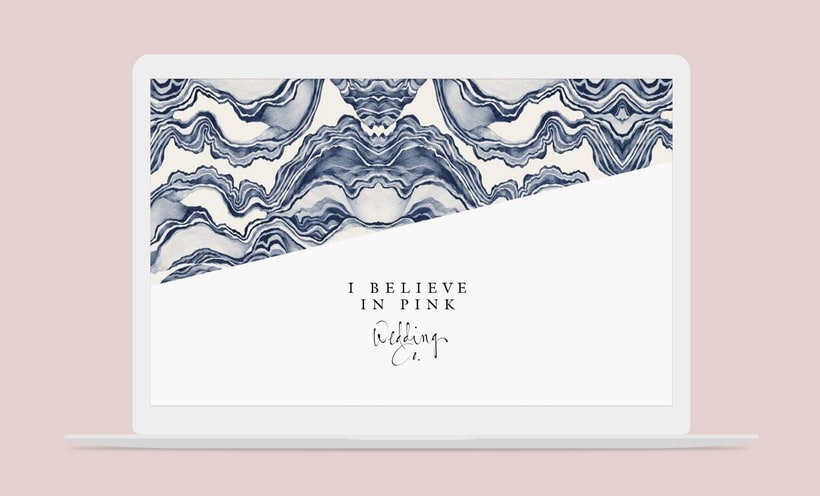 I Believe in Pink - Branding & Web Design 0