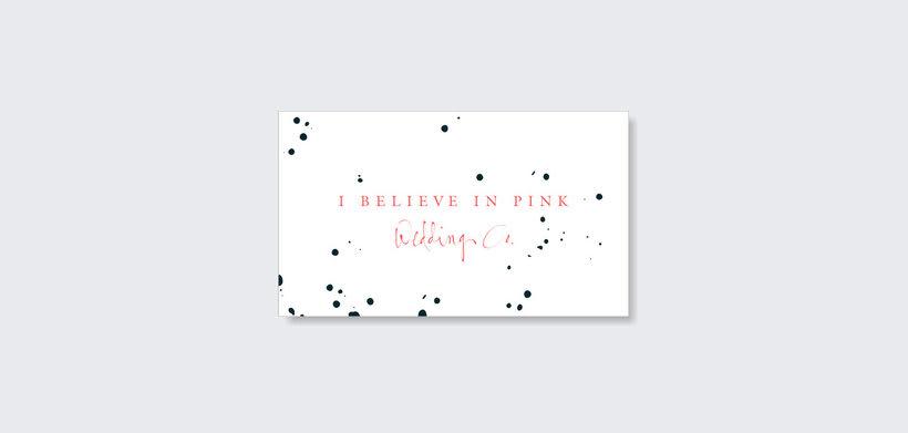 I Believe in Pink - Branding & Web Design 2