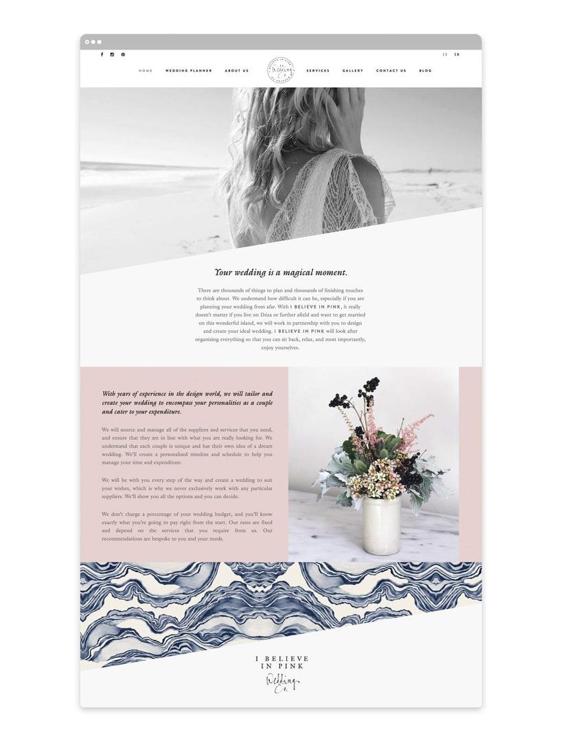 I Believe in Pink - Branding & Web Design 3