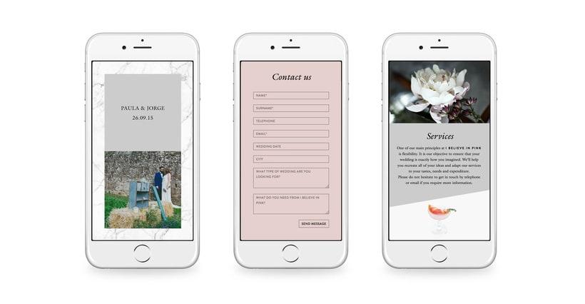 I Believe in Pink - Branding & Web Design 4
