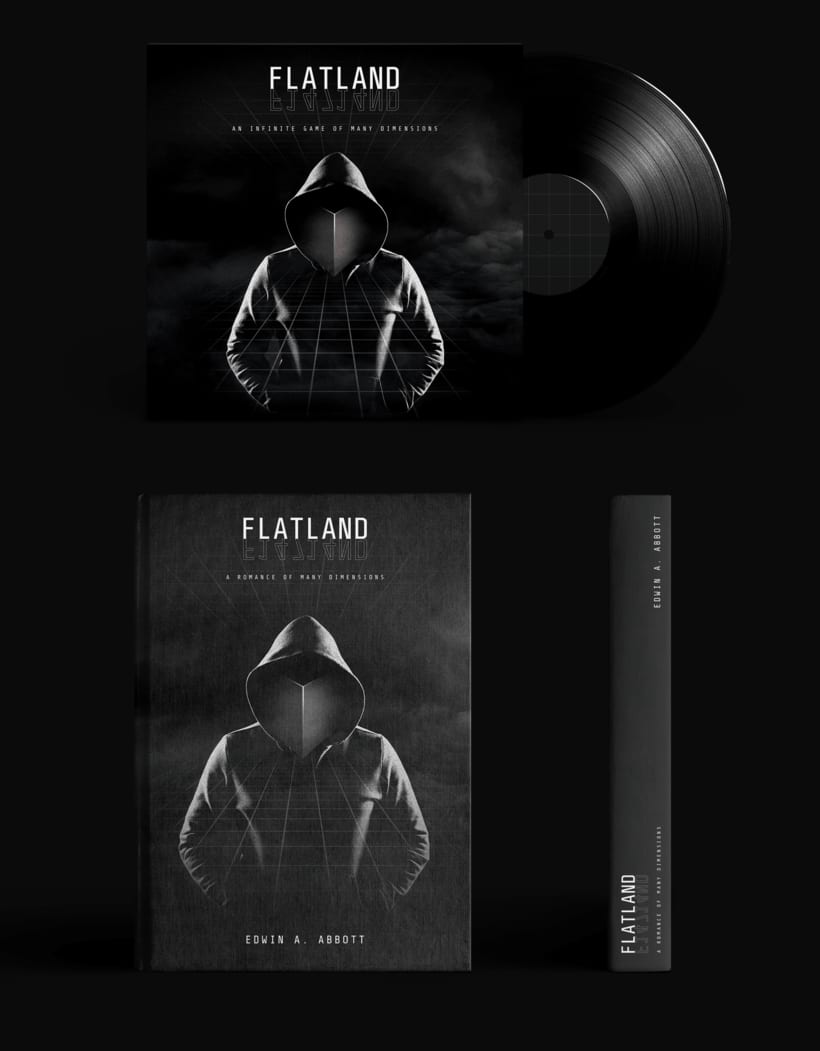 Flatland, an infinite game of many dimensions 4
