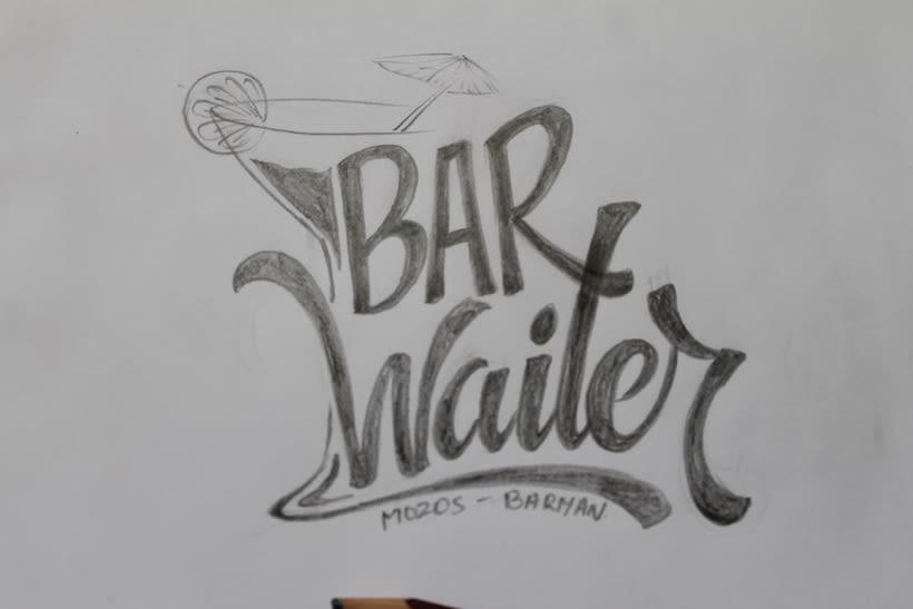 Mi Proyecto del curso: Diseño de logotipos caligráficos 4