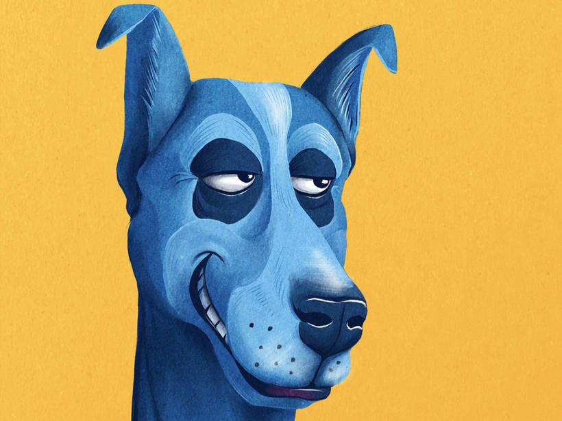Blue dogday 11
