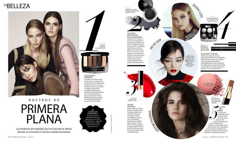 Maquetación y edición fotográfica para las revistas del Grupo Hearts Magazine. Harper's Bazaar /Quo / micasa / Nuevo Estilo  0