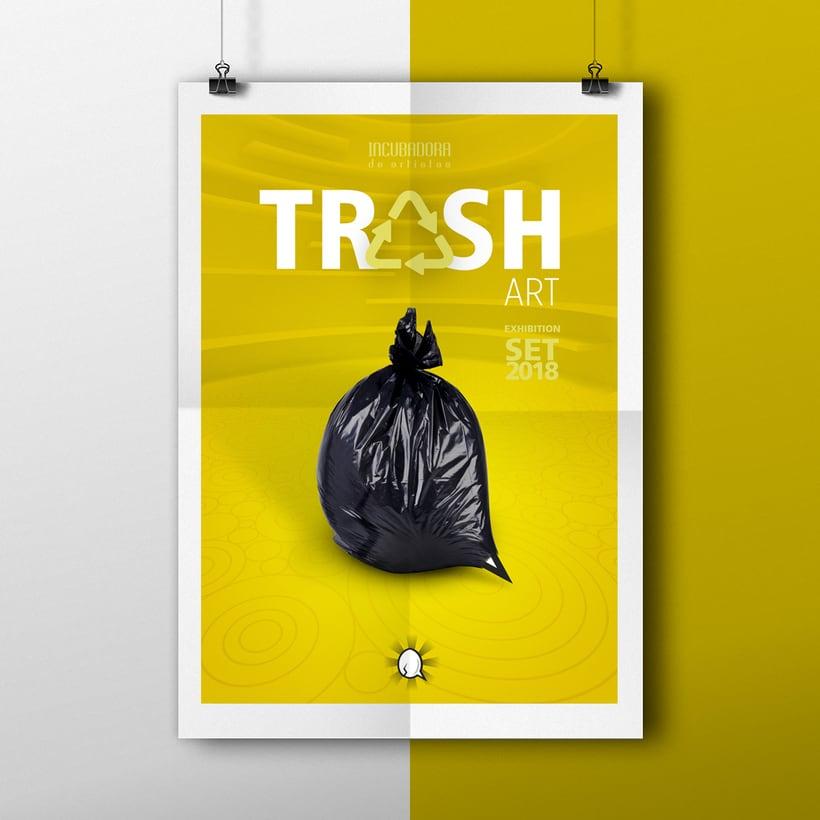 TRASH ART Exhibtion -1