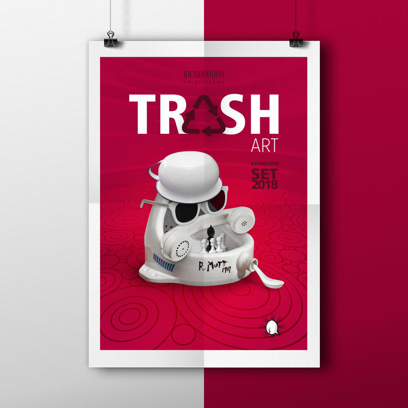 TRASH ART Exhibtion 0