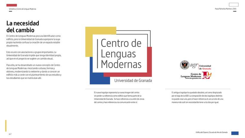 Wayfinding del Centro de Lenguas Modernas 0